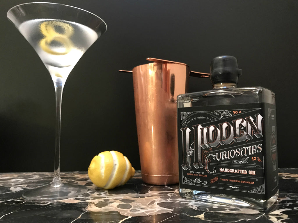 Hidden Curiosities In & Out Dry Martini