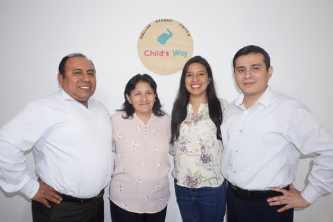 Child's Way Native Peruvian Cotton GOTS certified Sustainable Producer