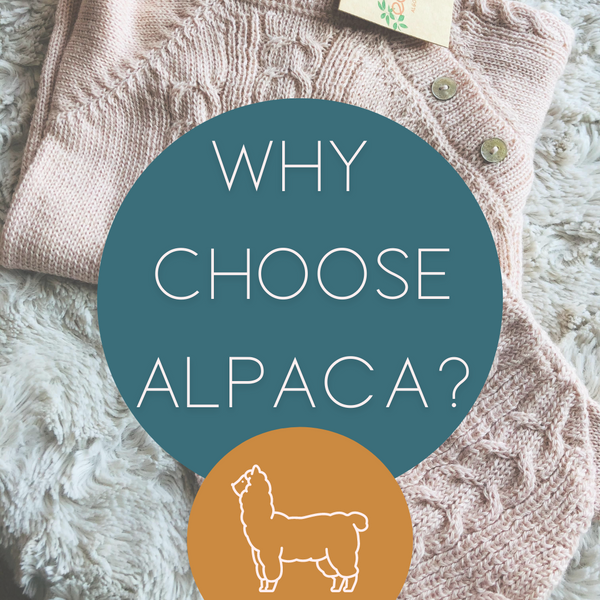 Why choose Alpaca with Pink Baby Alpaca Romper in background