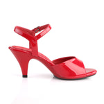 BELLE-309 - Red Pat/Red