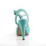 BETTIE-01 - Teal Faux Leather