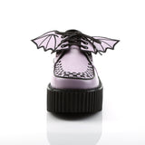 CREEPER-205 - Lavender Vegan Leather