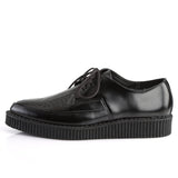 CREEPER-712 - Blk Leather
