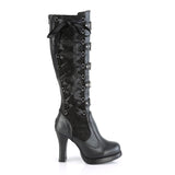 CRYPTO-106 - Blk Vegan Leather-Lace