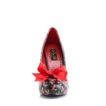 CUTIEPIE-06 - Blk-Red Pu (Cherries Print)