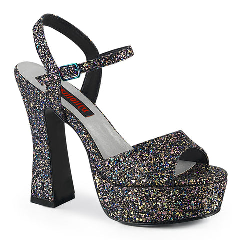 DOLLY-09 - Blk Multi Glitter