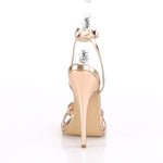 DOMINA-108 - Rose Gold Metallic PU