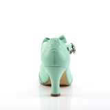 FLAPPER-11 - Mint Faux Leather