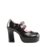 GOTHIKA-09 - Blk Vegan Leather