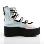 GRIP-31 - Slv Hologram Vegan Leather