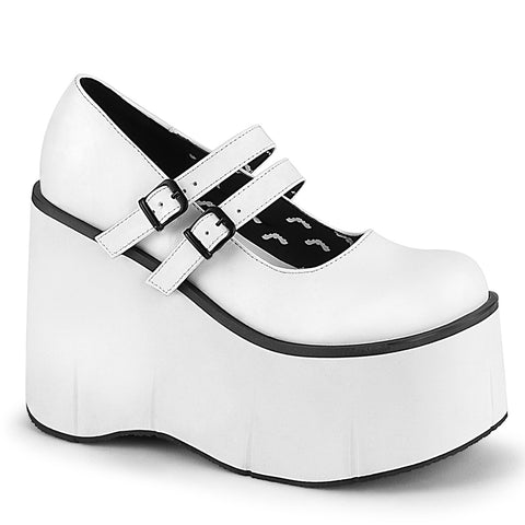 KERA-08 - Wht Vegan Leather