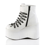 KERA-21 - Wht Vegan Leather
