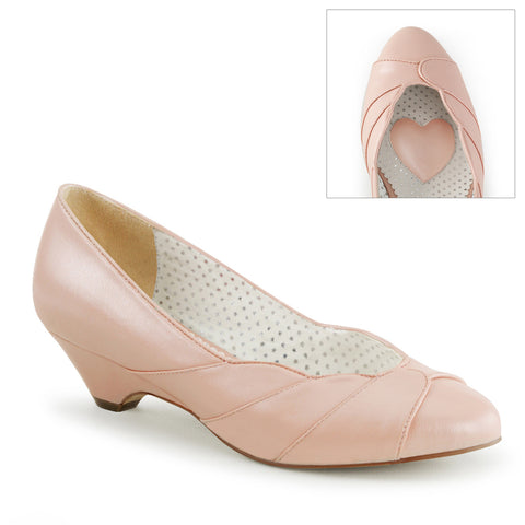 LULU-05 - B. Pink Faux Leather