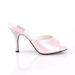 MONROE-05 - Pink Faux Leather