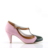 PEACH-03 - B.Pink Multi Faux Leather