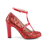 QUEEN-01 - Red Glitter-Pat