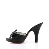 SIREN-03 - Blk Faux Leather
