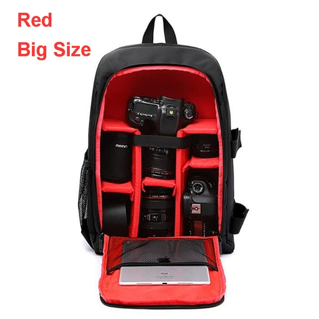 Waterproof Backpack for Camera and Laptop