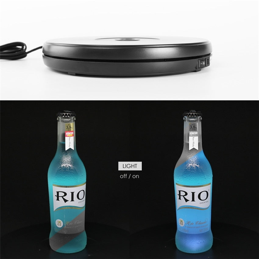 Photo and Videography Turntable