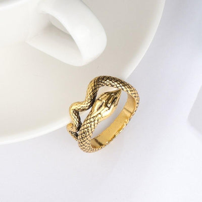 Bague Serpent Or Vintage