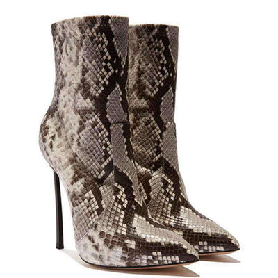 Bottines Serpent Hiver