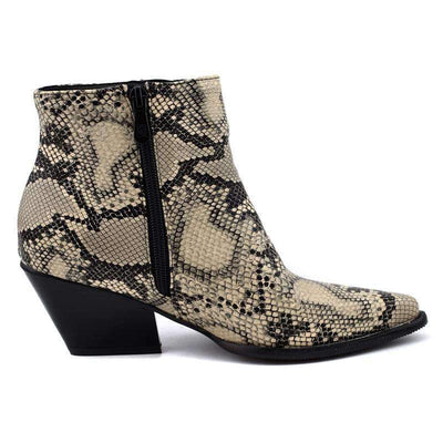 Bottines Serpent Python