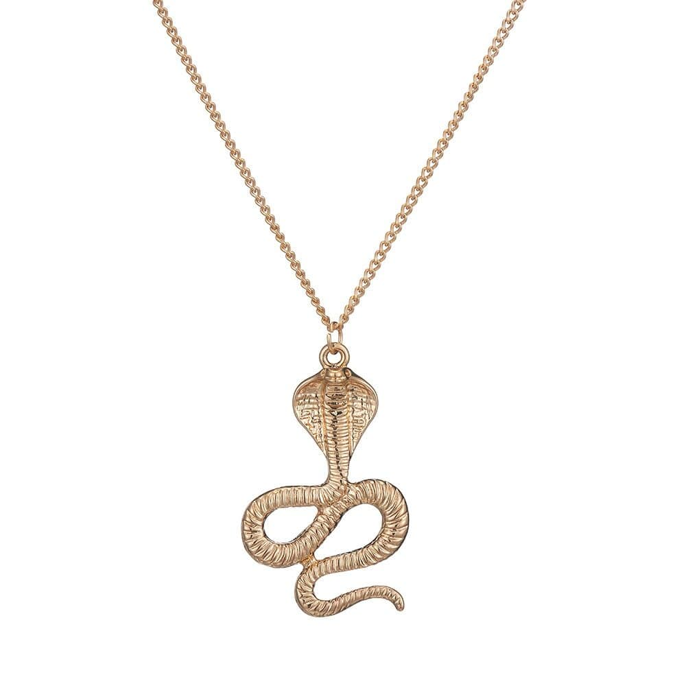 Collier Cobra Doré