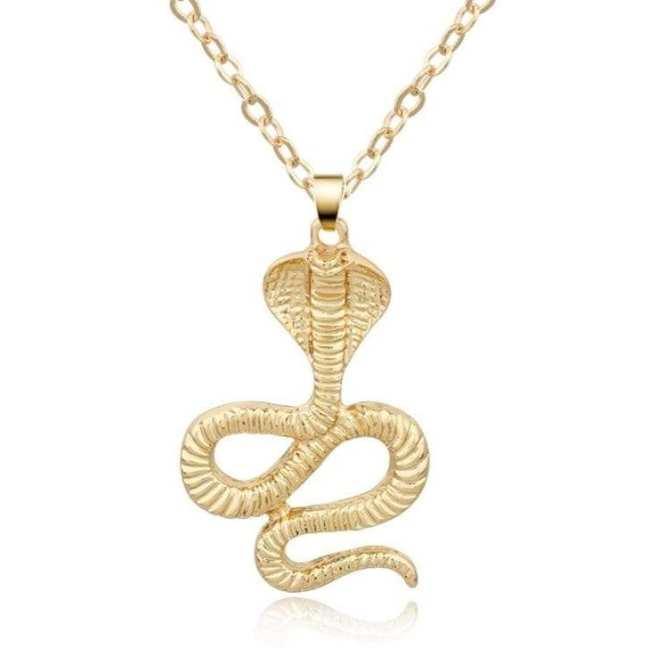 Collier Cobra Or