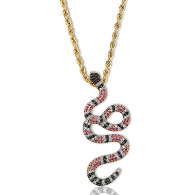 Collier Serpent Cuivre