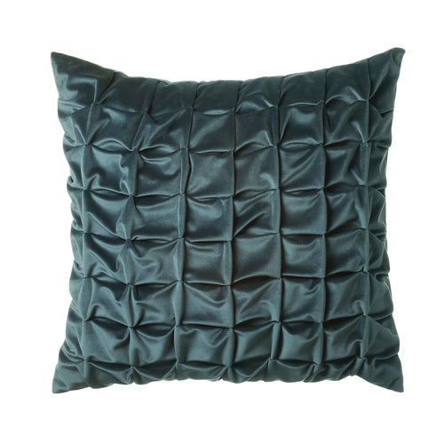 Feather filled Cushions - Origami Teal 45x45cm