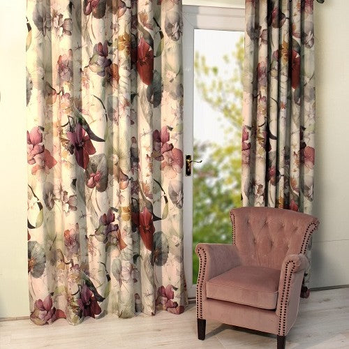 Noa Pair of Curtains, Purple