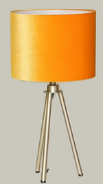 Load image into Gallery viewer, Champagne Trip Pod Table Lamp