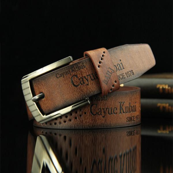 Men's retro belt