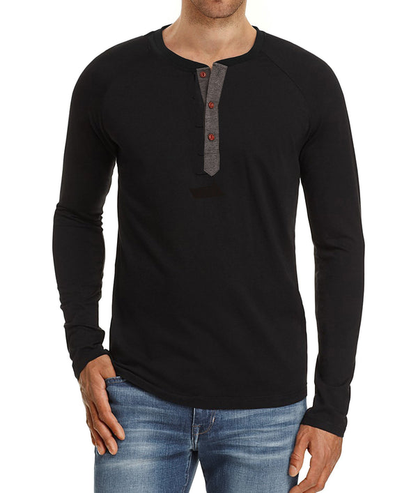 Men's Henry Long Sleeve Shirt
