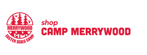 Shop Camp Merrywood with Camp Logo