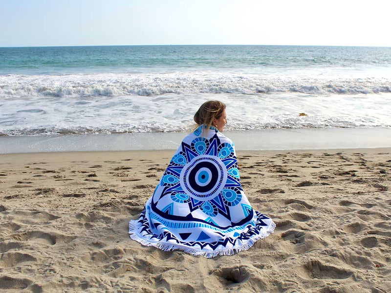 Seaside-Round-Towel