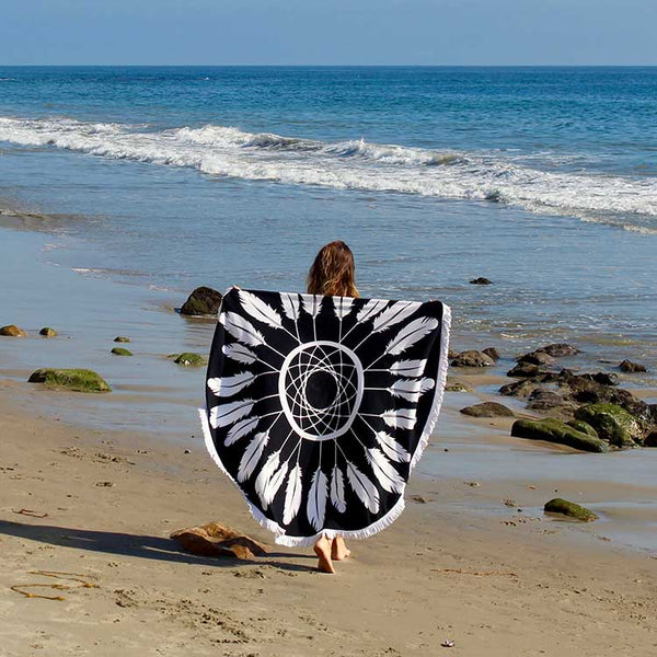 Seaside-Round-Towel-PiratesCove
