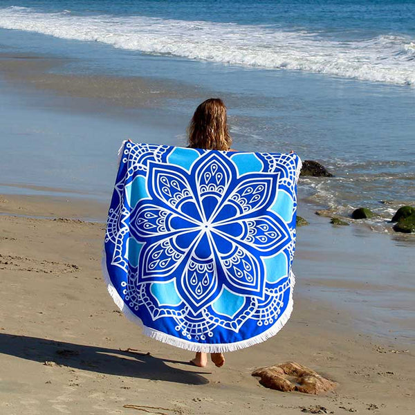 Seaside-Round-Towel-Westward