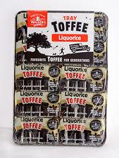 Walkers Tray Toffee - Liquorice 100g
