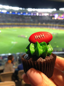 Mini Cupcakes - AFL Footy