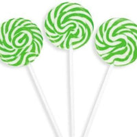 Green 40g Swirly Pop