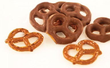 Pretzels in Milk Chocolate