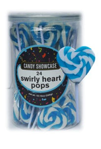 Blue 12g Heart Pop