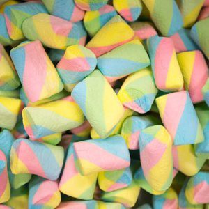 Rainbow Marshmallow Twist