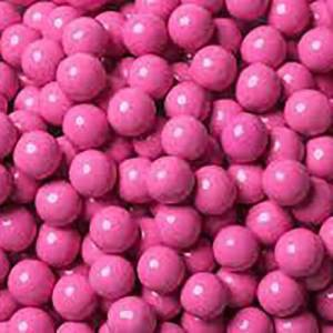 Choc Balls Pink Strawberry