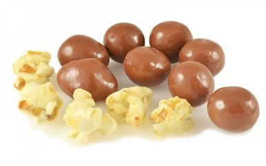 Caramel Popcorn in Milk Chocolate