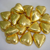 Chocolate Hearts - Gold