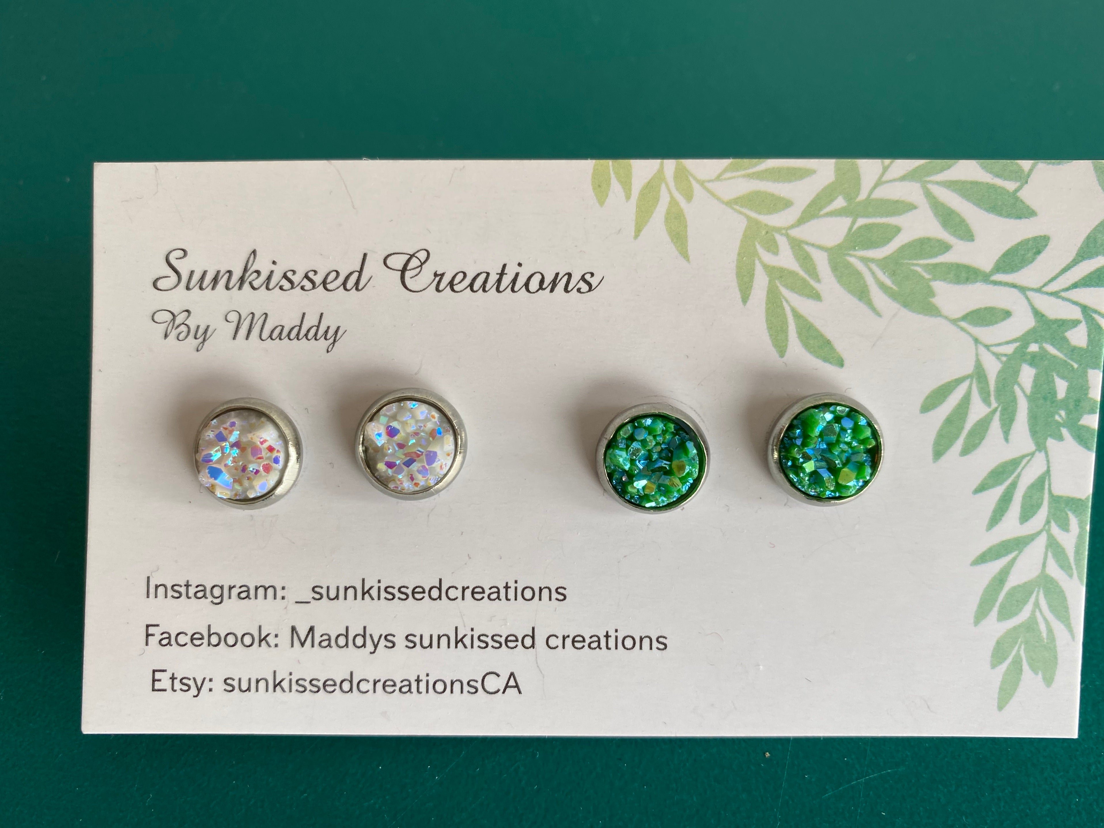 Maddy's Sunkissed Creations - Earring Duo