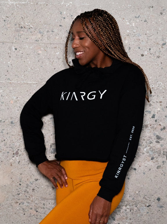 Limited First Edition KINRGY Crop Hoodie