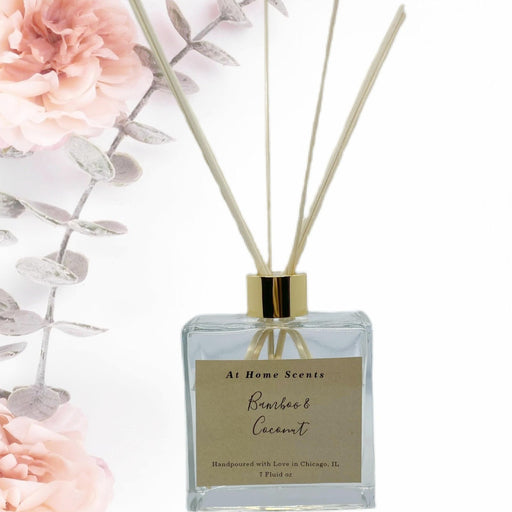 Bamboo and Coconut Reed Diffuser freeshipping - At Home Scents by Kim